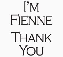 I'm Fienne, Thank You by Khonector