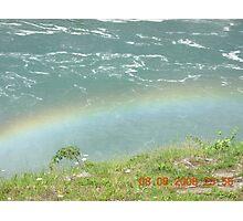 Rainbow at Niagara Photographic Print