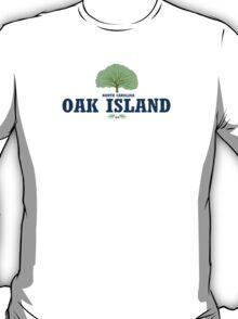 Oak Island - North Carolina. T-Shirt
