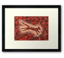 The  Last Tasmanian Wolf Framed Print