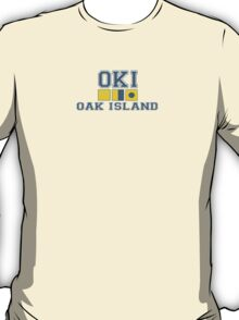 Oak Island - North Carolina. T-Shirt