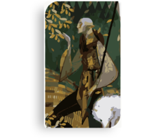 Solas Tarot Card 2 Canvas Print