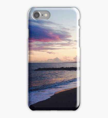 West Bay Beach Sunset Photography iPhone Case/Skin
