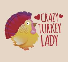 Crazy Turkey lady by jazzydevil