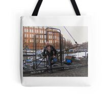 Troy- Uncaged Tote Bag
