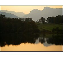 Langdale evening Photographic Print