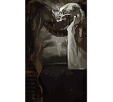 Iron Bull Tarot Card 1 Photographic Print