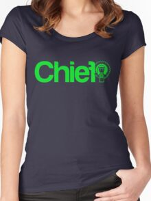 Project Chief     Green Women's Fitted Scoop T-Shirt