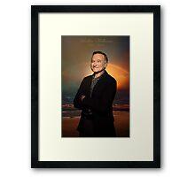 Robin Williams ~ Paradise Framed Print