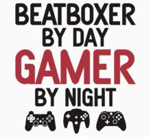 Beatboxer by Day Gamer by Night by designbymike