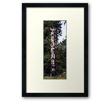 Totem Pole I Framed Print