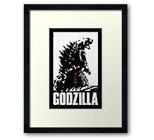 Godzilla IMAX Poster Finalist Framed Print