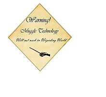 HP Muggle Technology Template, Harry Potter Photographic Print