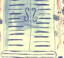 Wonderful Wisteria Sticker