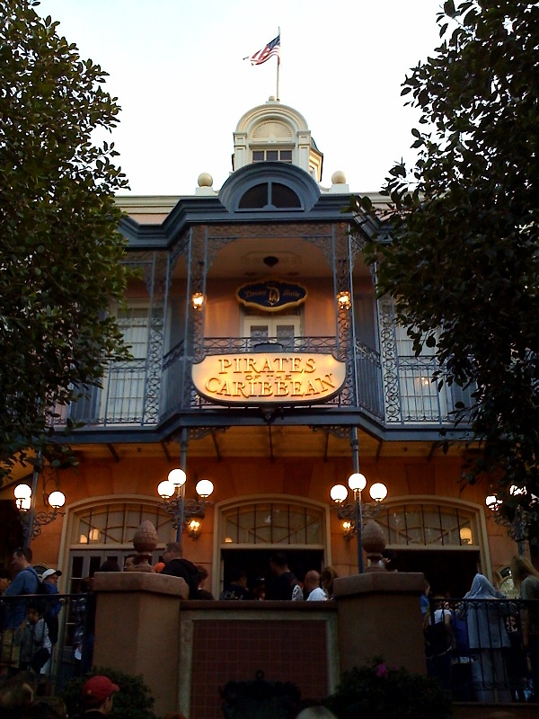 Pirates of The Caribbean, Disneyland by Lisa Ouillette