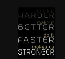 Harder, Better, Faster, Stronger Tank Top