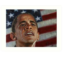 Barack Obama - Change for America, for the World, for All of Us - The Audacity of Hope Art Print