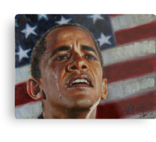 Barack Obama - Change for America, for the World, for All of Us - The Audacity of Hope Metal Print