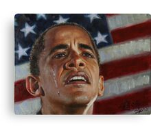 Barack Obama - Change for America, for the World, for All of Us - The Audacity of Hope Canvas Print