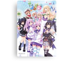 Hyperdimension Neptunia Re;Birth 2 main cast Metal Print