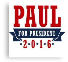 Rand Paul for President Canvas Print