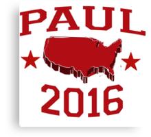 Rand Paul 2016 Canvas Print