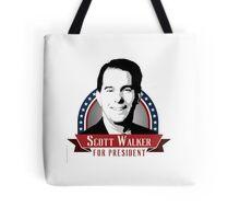 Scott Walker for President Tote Bag