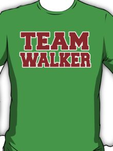 Team Walker 2016 T-Shirt