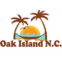 Oak Island - North Carolina.  Photographic Print