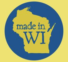 Made in WI - Blue Circle Kids Clothes