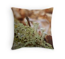 Tiny little beings Throw Pillow