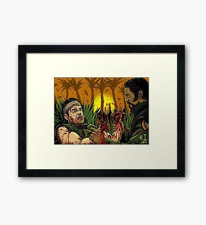 Tropic Thunder Framed Print