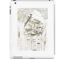 Cemetery Sketch iPad Case/Skin