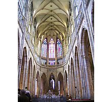 Interior Of The Saint Vitus Cathedral Photographic Print