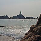 Corbiere Lighthouse by Robert Abraham