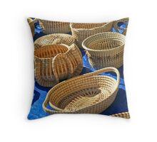 Gullah Trade Throw Pillow
