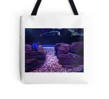 Blue Lobster Tote Bag