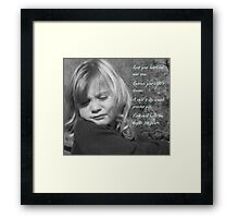 Key To The Future Framed Print