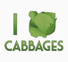 I Heart Cabbages by imaginacorn