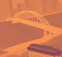 City of Pittsburgh Illustration by Jeremy McGraw