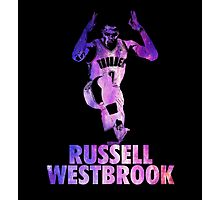 Russell Westbrook Galaxy Photographic Print