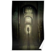 Passage at night Poster