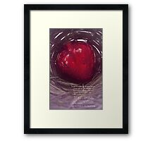 True Wealth & Soul Age Framed Print