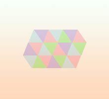 Geometric Pastel by skidmarks