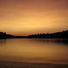 Sunset on the lake, part 2 by hollaay