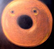 Open Faced Bagel by John Sunderland