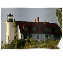 Point Betsie Lighthouse, Michigan Poster