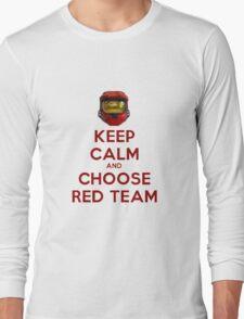 Halo Keep Calm Long Sleeve T-Shirt
