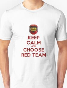 Halo Keep Calm Unisex T-Shirt