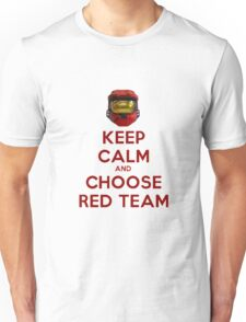 Halo Keep Calm Unisex T-Shirt